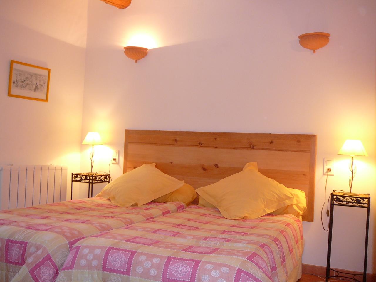 Chambre 2 petits lits de la location
