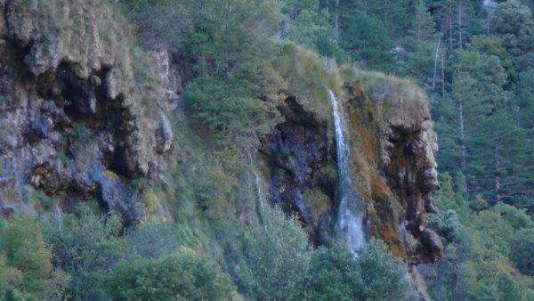 Cascade St Maurin dans les Gorges du Verdon