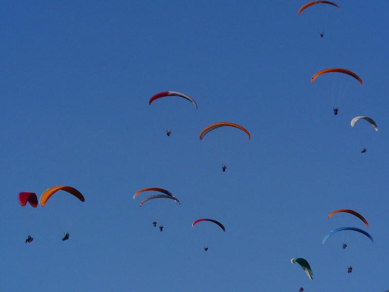 Vol en parapente à Moustiers Sainte Marie