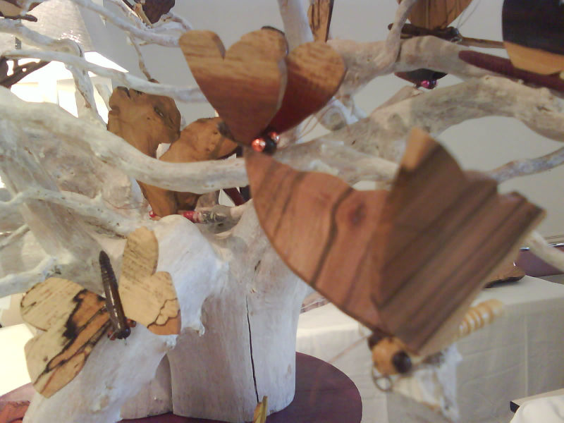 Journées du bois tourné 2014 à Aiguines