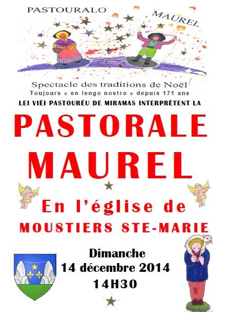 La traditionnelle Pastorale Maurel, en provençal
