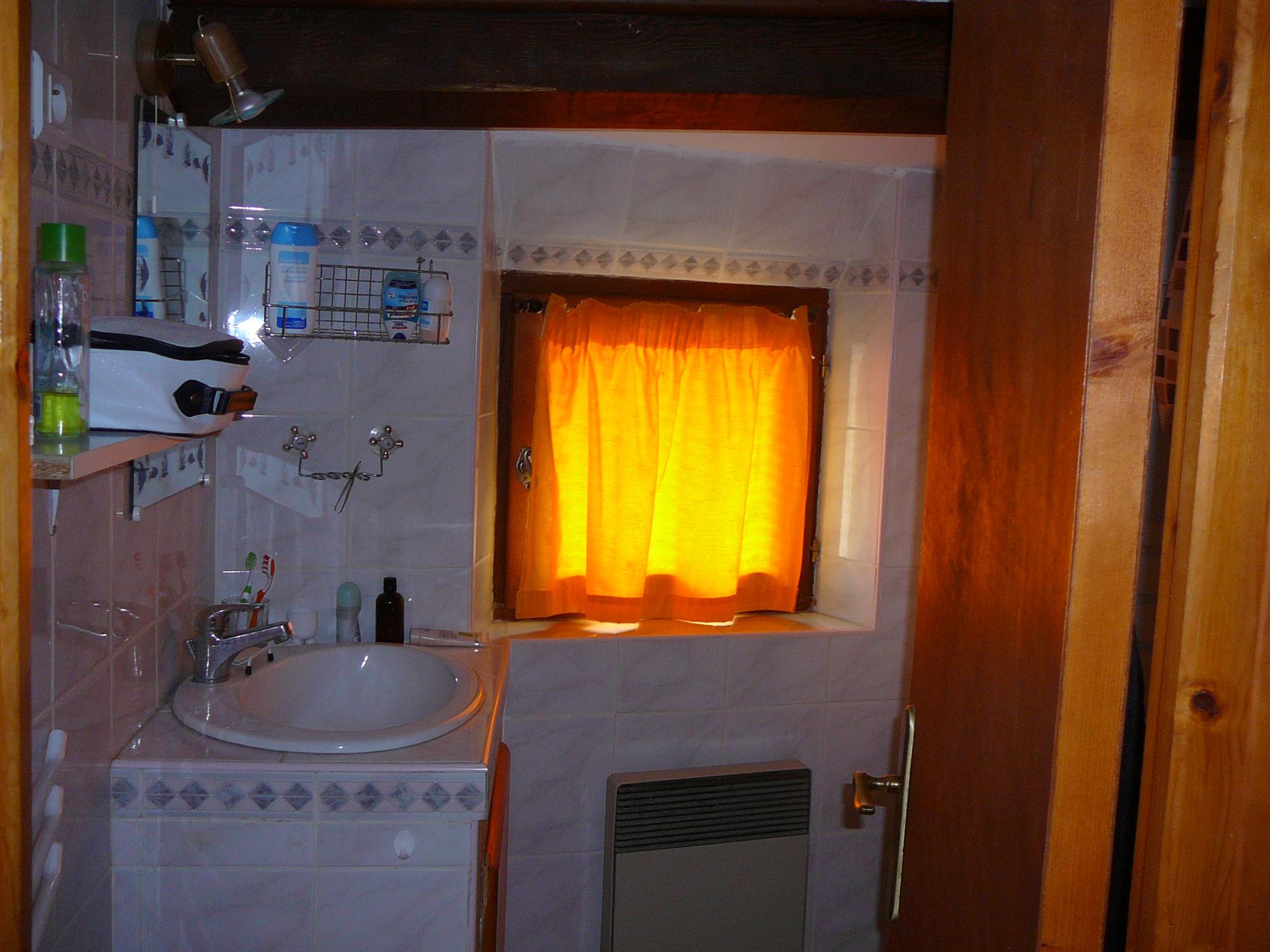 Chambre salle d'eau wc sur mezzanine