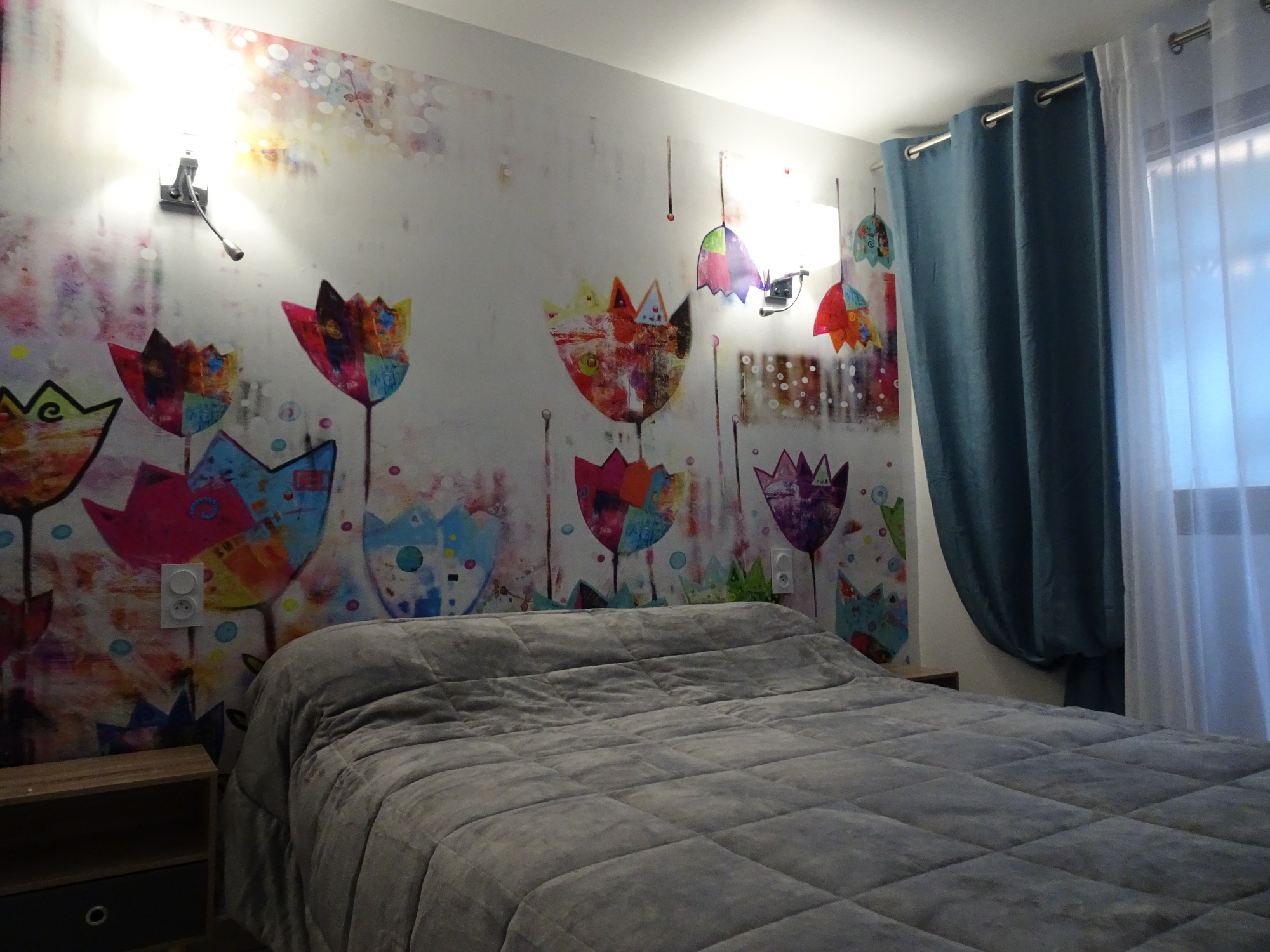 chambre appartement Coquelicot
