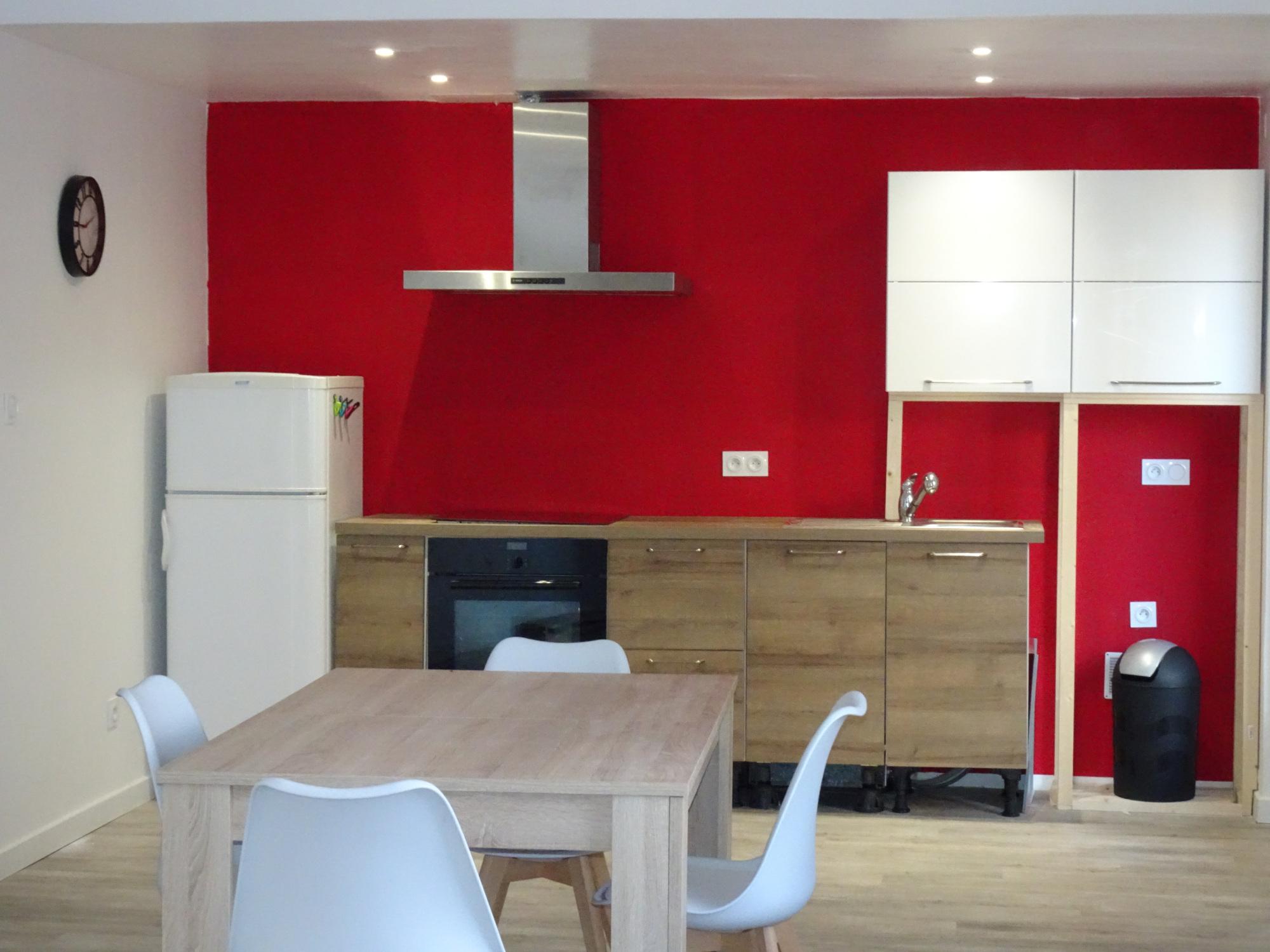 cuisine appartement Coquelicot